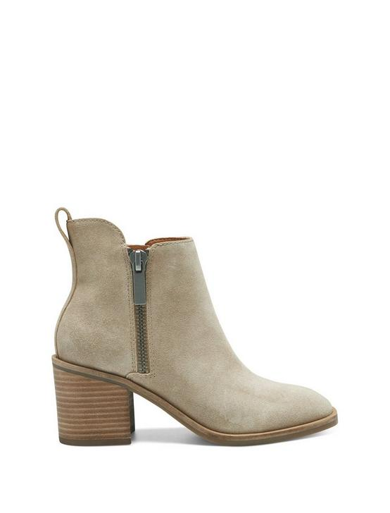 WALBA BOOTIE, LIGHT BROWN, productTileDesktop