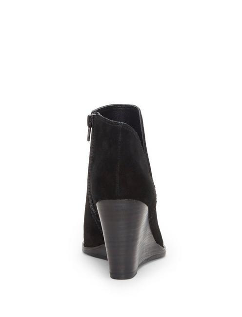 YIMMIE WEDGE BOOTIE, BLACK