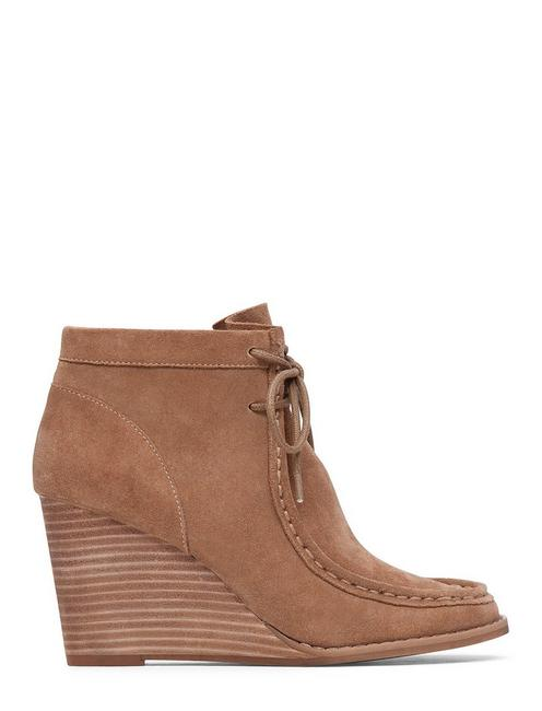 YSABEL WEDGE BOOTIE, SESAME
