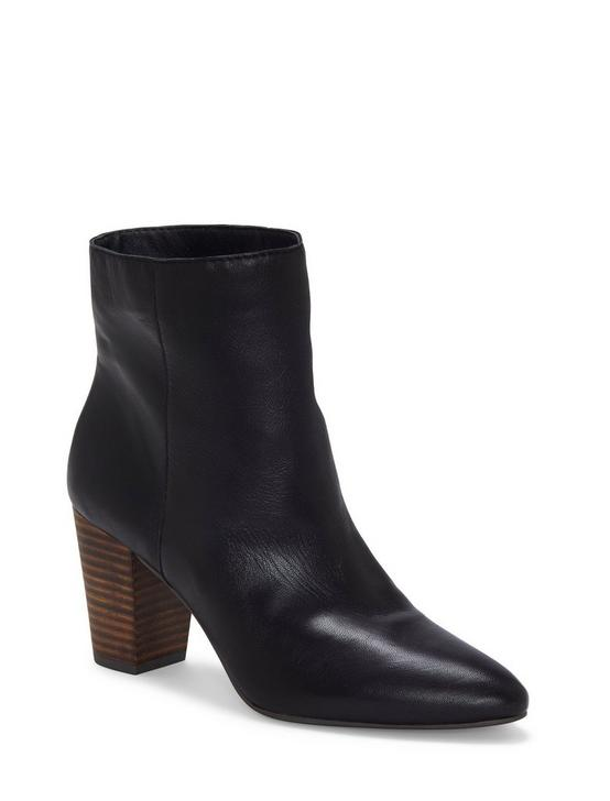 YUBAL LEATHER BOOTIE, BLACK, productTileDesktop