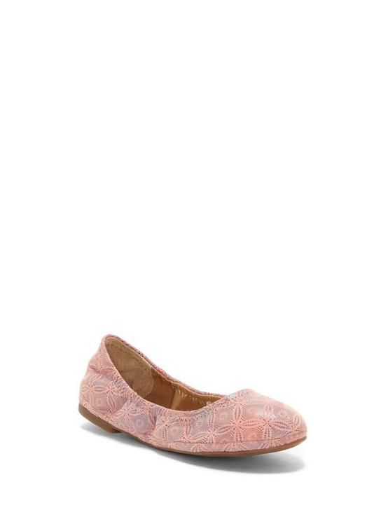 GIRLS 11-5 EMMIE FLAT, DARK PINK, productTileDesktop