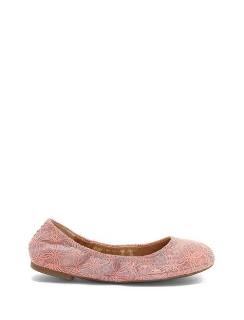 GIRLS 11-5 EMMIE FLAT, DARK PINK