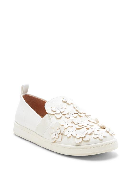 EMBELLISHED SNEAKER, NATURAL, productTileDesktop