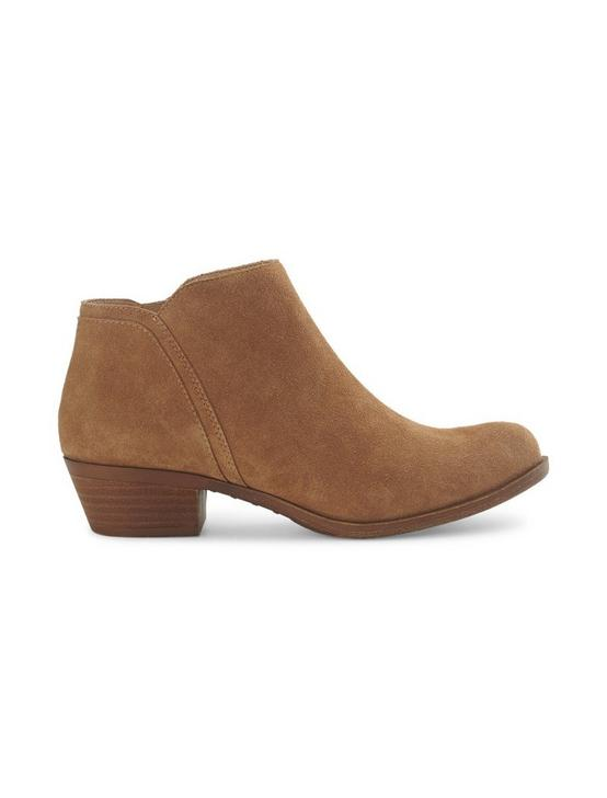 BAREESA SUEDE BOOTIE, RUST BROWN, productTileDesktop