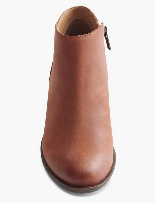 BAREESA BOOTIE, RUST BROWN