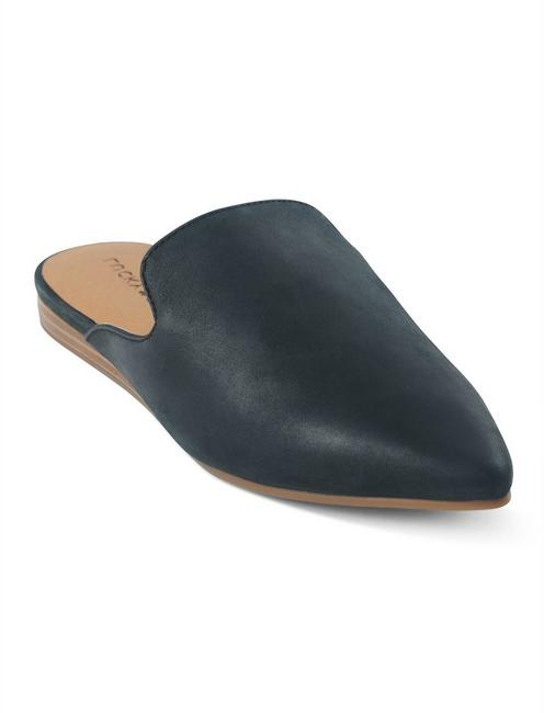 BRYNNUH SLIDE FLAT, BLACK