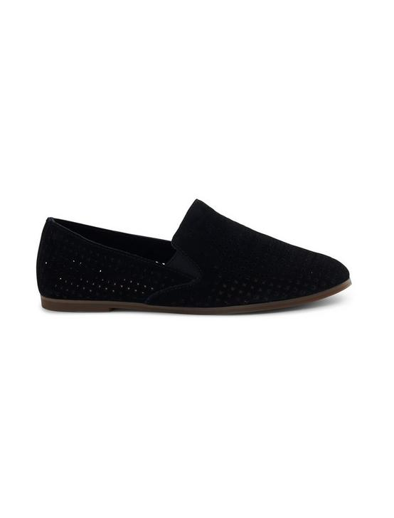 CARTHY SUEDE LOAFER FLAT, FEATHER, productTileDesktop