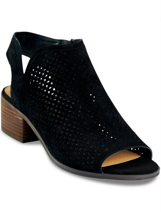NERELLY OPEN-TOE BOOTIE, BLACK, productTileDesktop