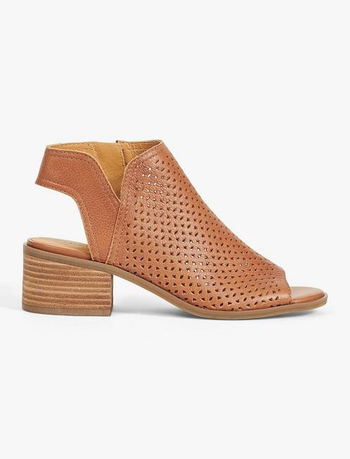Lucky Nerelly Open-Toe Bootie