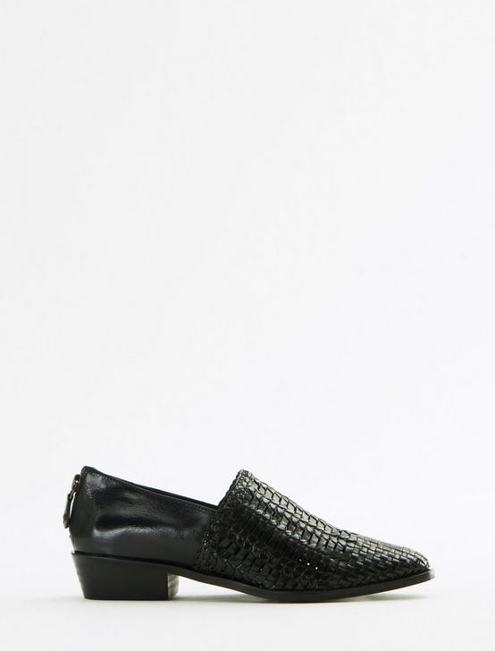 SALT + UMBER ALICANTE BOOTIE, BLACK, productTileDesktop