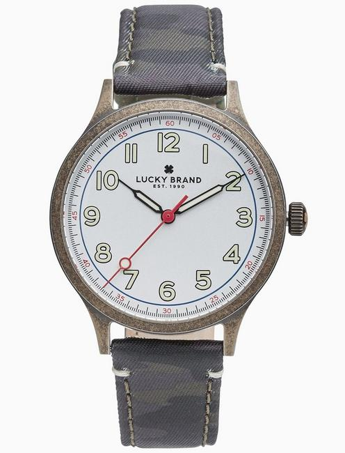 Lucky Jefferson Camo Watch, 38mm