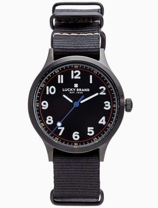 JEFFERSON NATO BLACK WATCH, 38MM, SILVER, productTileDesktop