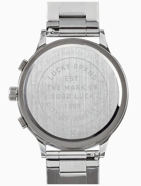 ROCKPOINT SILVER MULTI-FUNCTION WATCH, 42MM, SILVER