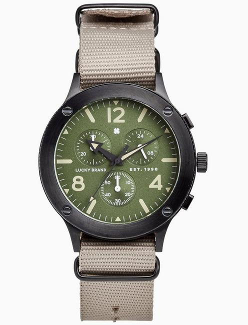 Lucky Rockpoint Multi-Function Khaki, 42mm