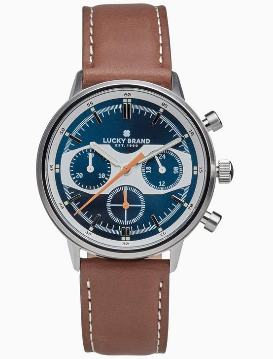 FAIRFAX RACING BLUE WATCH, 40MM, SILVER, productTileDesktop