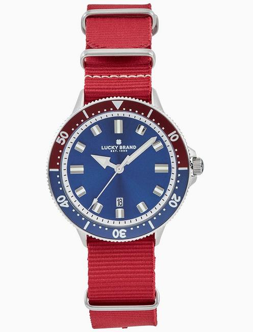 Lucky Dillon Sport Red Watch, 42mm