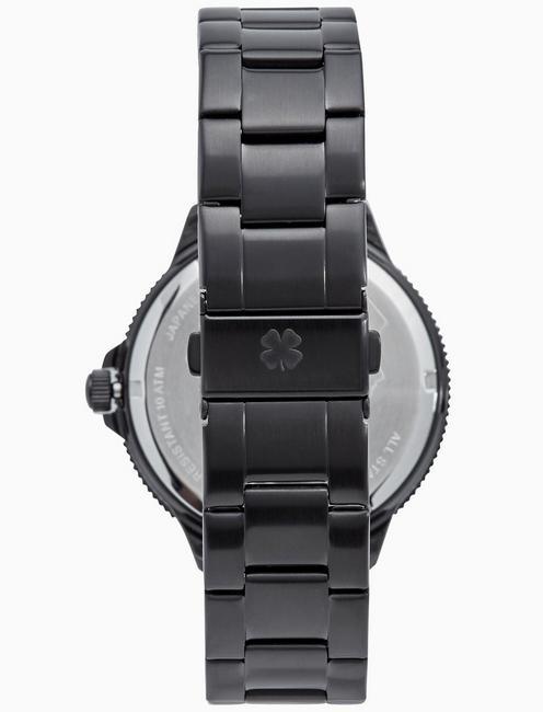 DILLON BLACK BRACELET WATCH, 42MM, BLACK