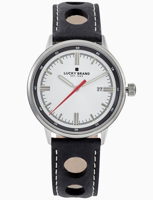 Lucky Fairfax White Watch, 40mm