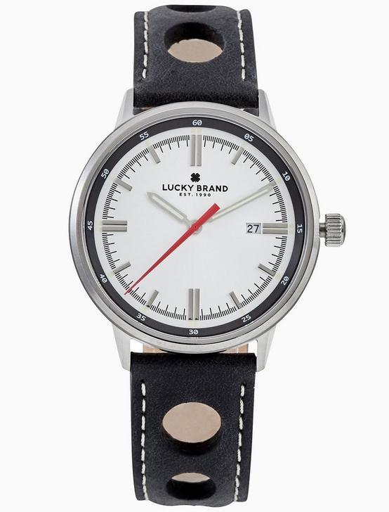 FAIRFAX WHITE WATCH, 40MM, SILVER, productTileDesktop