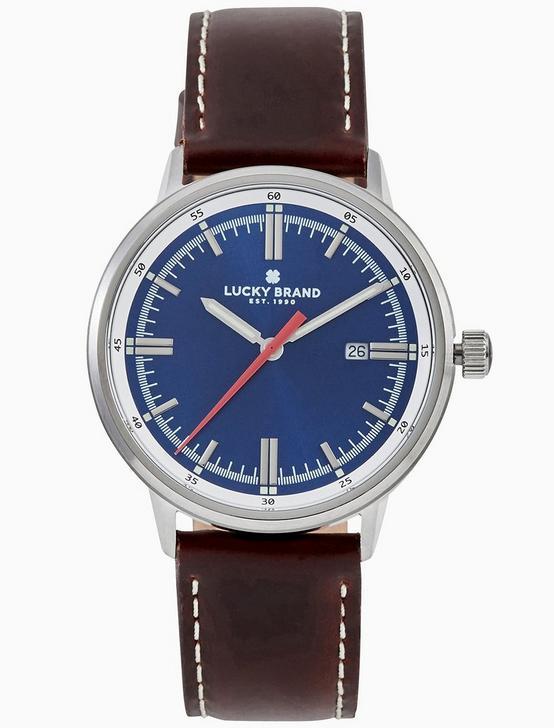 FAIRFAX BLUE WATCH, 40MM, SILVER, productTileDesktop