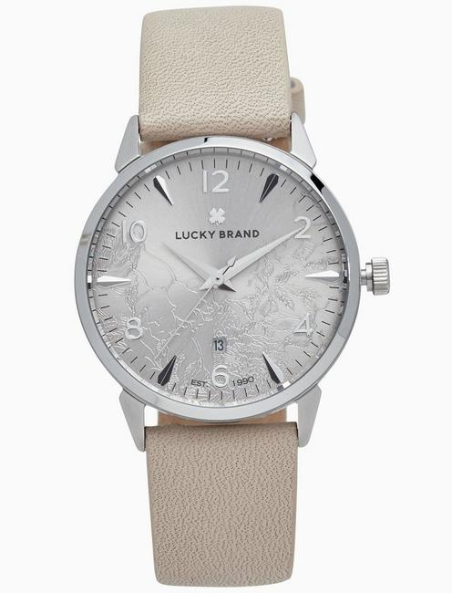 Lucky Torrey Blush Leather Watch, 34mm