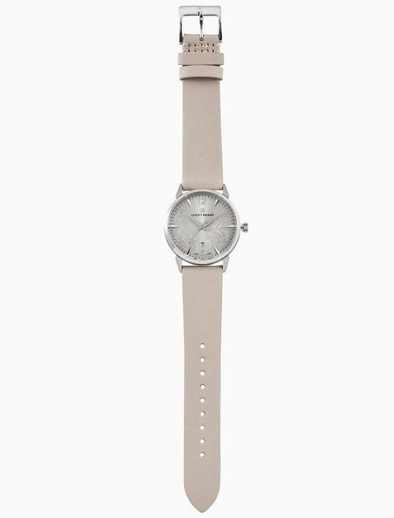 TORREY BLUSH LEATHER WATCH, 34MM, SILVER, productTileDesktop