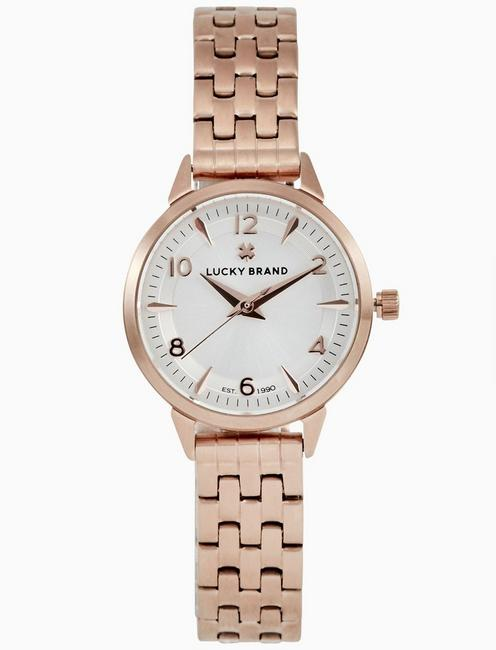 Lucky Torrey Mini Rose Gold Bracelet Watch, 28mm