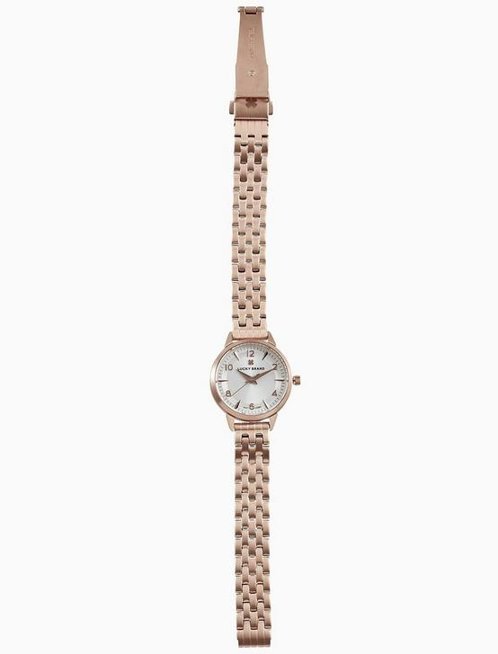 TORREY MINI ROSE GOLD BRACELET WATCH, 28MM, BRIGHT PINK, productTileDesktop