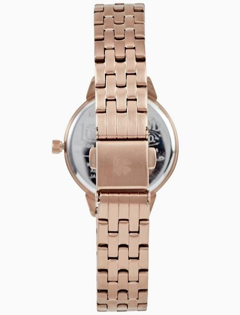 TORREY MINI ROSE GOLD BRACELET WATCH, 28MM, BRIGHT PINK
