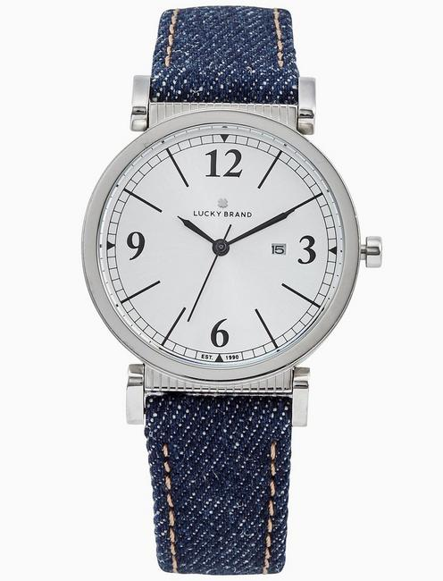 Lucky Carmel Denim Watch, 34mm