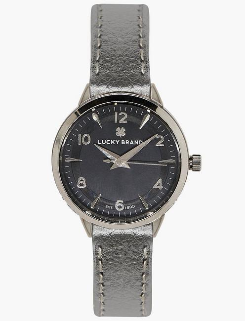 Lucky Torrey Silver Metallic Watch