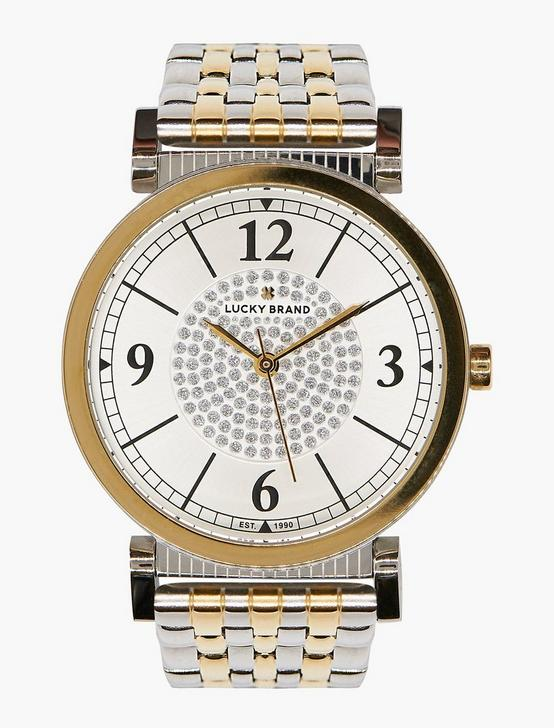 Carmel White Glitz Watch, TWO TONE, productTileDesktop