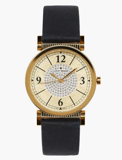 Lucky Carmel Navy Leather Watch