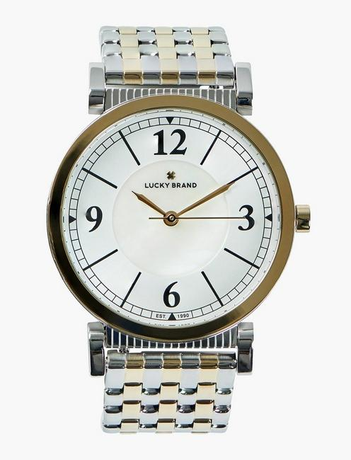 Carmel Two Tone Watch,