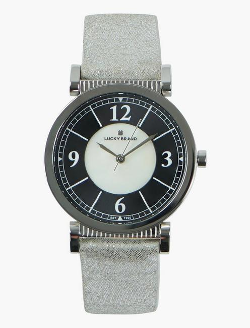 Carmel Silver Metallic Watch,