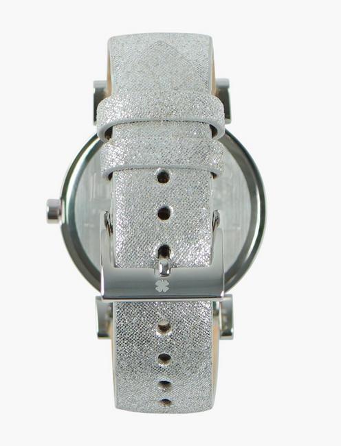 Carmel Silver Metallic Watch, SILVER