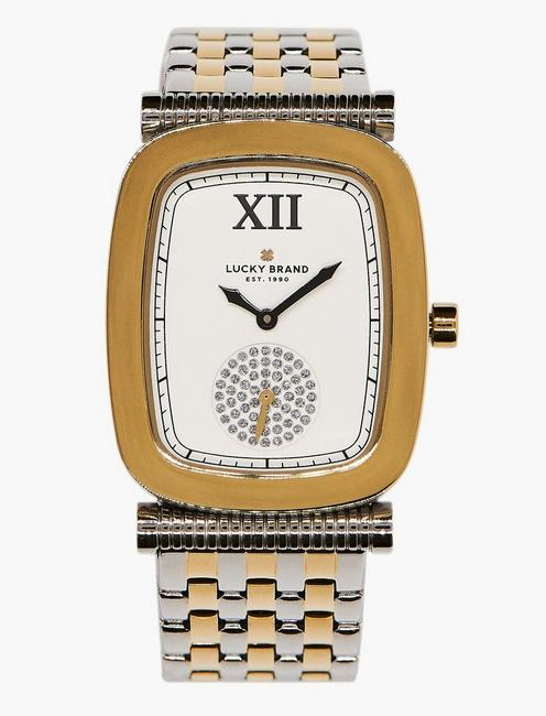 Laurel Two Tone Watch, TWO TONE