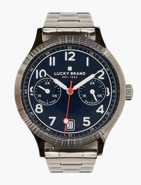 Jefferson Multi Silver Watch, SILVER, productTileDesktop