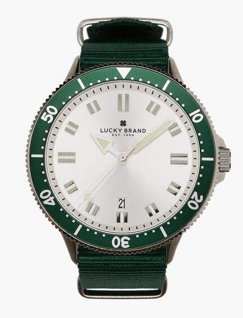 Lucky Dillon Green Nato Watch