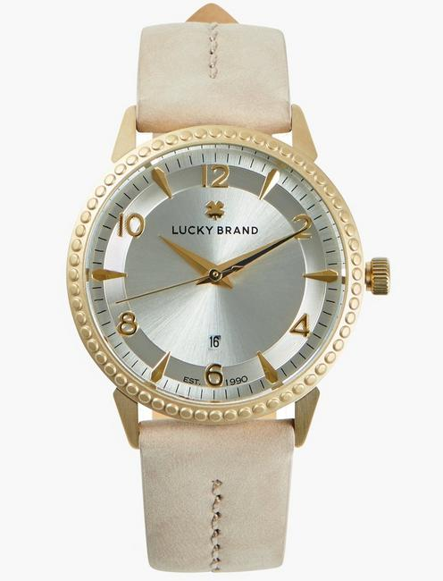 Torrey Vanilla Leather Watch