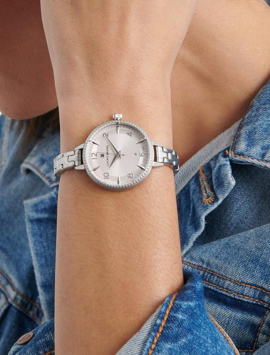 TORREY SKINNY SILVER WATCH, 34mm, SILVER, productTileDesktop