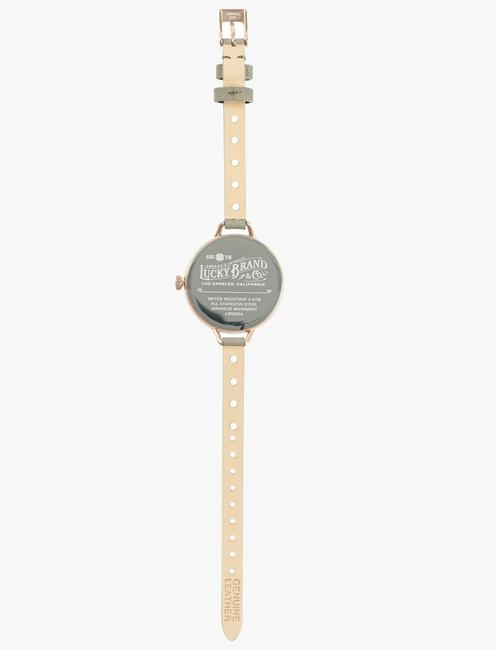 INDIO BLUSH SUEDE WATCH, 36mm, BRIGHT PINK