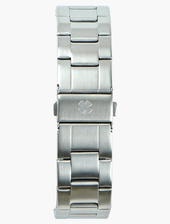 Dillion Sterling Silver Metal Watch, SILVER, productTileDesktop