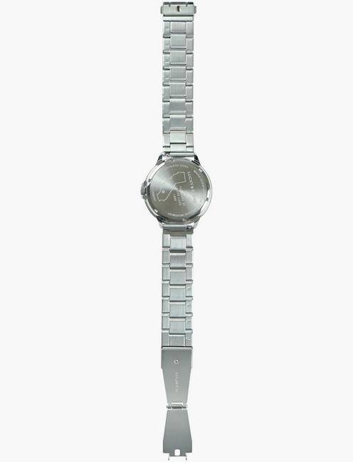 Dillion Sterling Silver Metal Watch, SILVER