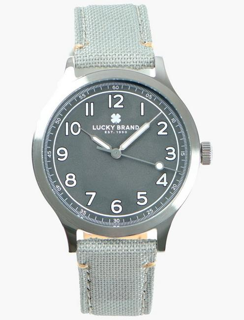 Jefferson Gray Fabric Watch
