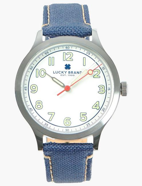 Jefferson Navy Fabric Watch