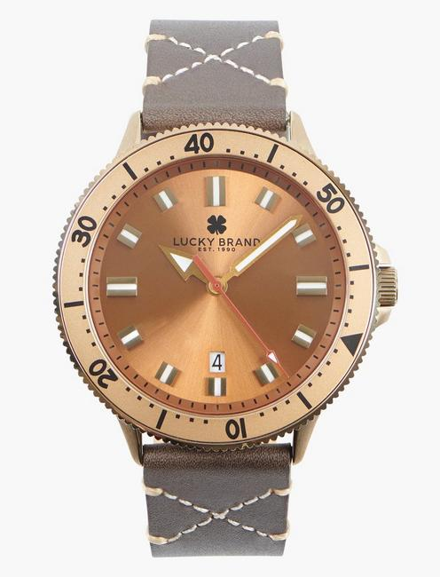 Dillon 3H Bronze Watch,