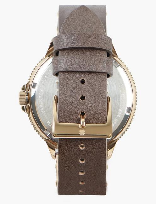 Dillon 3H Bronze Watch, GOLD