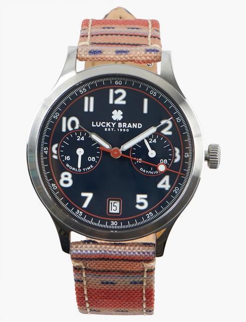 Jefferson Multi Navy Dial Watch,