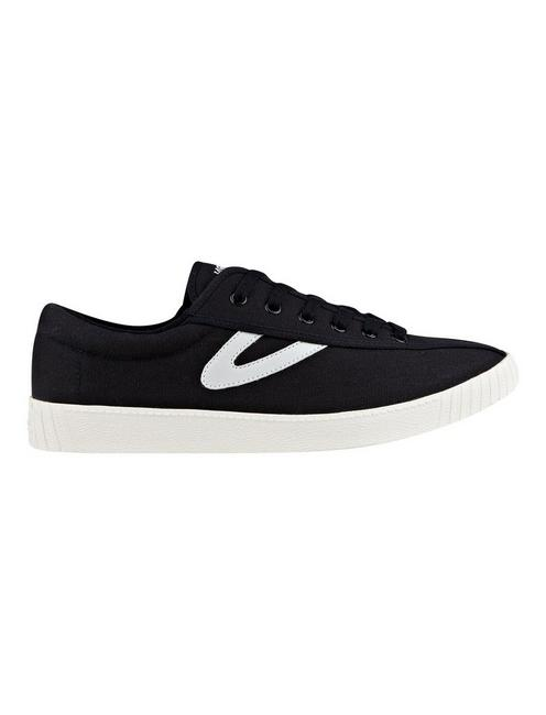 TRETORN NYLITE CANVAS SNEAKER, BLACK
